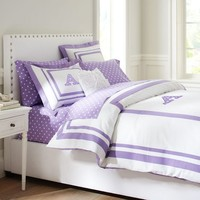 Suite Dottie Applique Duvet Cover + Sham