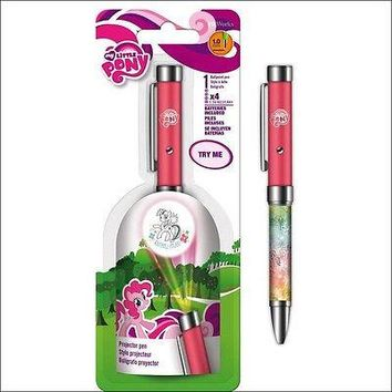 My Little Pony Rainbow Projector Pen Pointer Flashlight Birthday Party Favor NEW