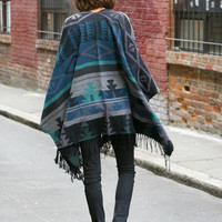 Colorado Springs Fringe Poncho