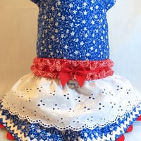 RockinDogs Retro Raggedy Ann Inspired Dog Dress