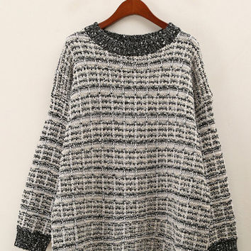 Long Sleeve Cozy Boyfriend Sweater