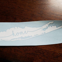 Long Island Home Vinyl Decal