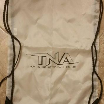 TNA/IMPACT Wrestling Drawstring Backpack + BONUS!
