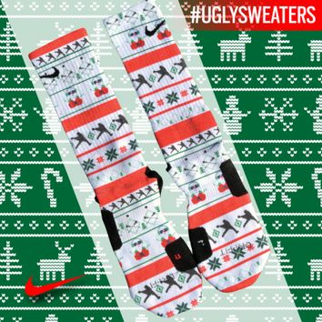Custom Elite Socks - UGLY SWEATER | Lacrosse Unlimited
