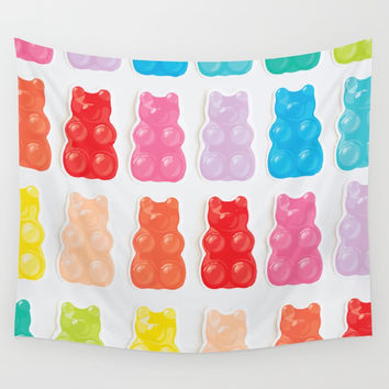 Gummy Bears Wall Tapestry by allisone