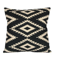 Aztec throw pillow covers 18x18 Black and white decorative pillowcases Geometric cushion case 22x22 Tribal cushion covers Outdoor cushions