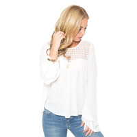 Field Of Dreams White Blouse