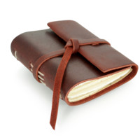 Quote Book Leather Journal - Hand-Sewn Leather Journals | Rustico Leather