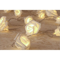 Fantasy 20LED flower rose fairy string night light lamp for wedding party christmas Gift [7981853895]