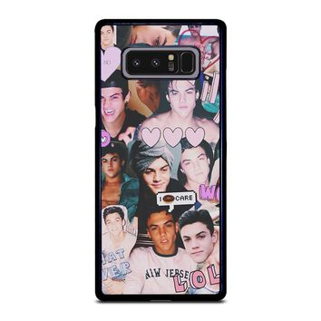 DOLAN TWINS COLLAGE Samsung Galaxy Note 8 Case