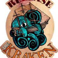 Release the Kraken Vinyl Sticker