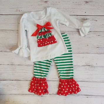 Christmas Tree Outfit Set