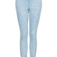 MOTO Acid Blue Joni Jeans - Jeans  - Clothing