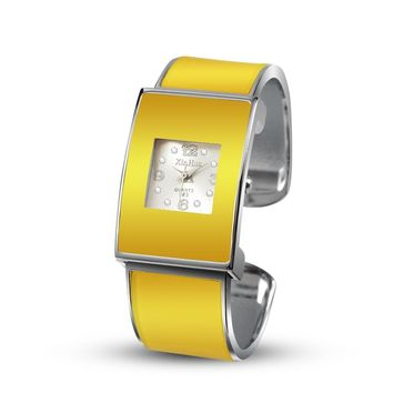 New Fashion Luxury Yellow color Bracelet Watch
