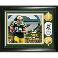 Jordy Nelson Gold Coin Photo Mint
