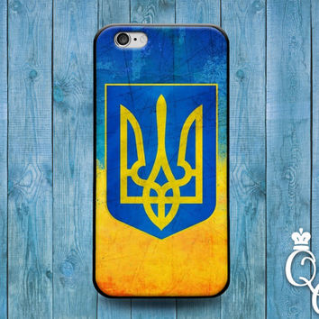 iPhone 4 4s 5 5s 5c 6 6s plus iPod Touch 4th 5th 6th Generation Blue Yellow Ukraine Ukrainian Euro Europe National Nation Flag Country Case