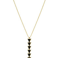 House Of Harlow Ascension Pendant Necklace - Black