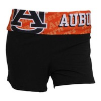 Auburn Tigers Cameo Ladies Shorts