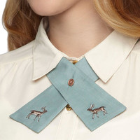 Raise the Hoof Collar Tie | Mod Retro Vintage Necklaces | ModCloth.com