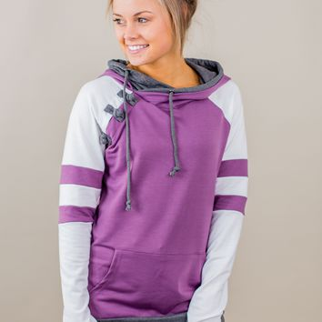 Preorder: Knot Your Typical Hoodie- Varsity Violet