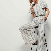 Free People Womens Pretty Thing Jumpsuit
