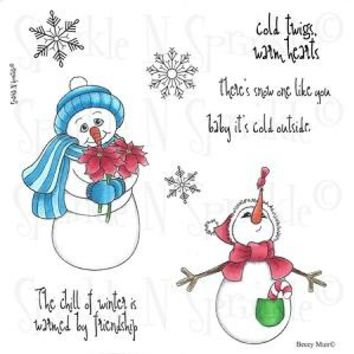 Snow One Like You Rubber Stamp Set [00-515P6]