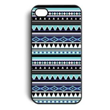 Generic Aztec Tribal Pattern Snap On Case Cover for Apple iPhone 4/4s - Non-Retail Packaging - Multi