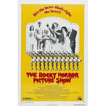 Rocky Horror Picture Show The Rhps Movie poster Metal Sign Wall Art 8in x 12in