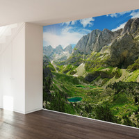 Into The Valley Wall Mural Decal