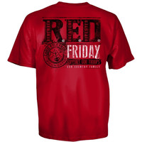 Red Friday American Sniper Chris Kyle Shirt God Country Family
