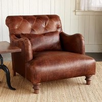 ALCAZAR LEATHER ARMCHAIR         -                Sofas & Chairs         -                Furniture         -                Furniture & Decor         -                Categories                       | Robert Redford's Sundance Catalog
