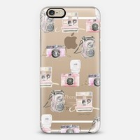 Pink Camera Series (Semi-Transparent) iPhone 6 case by Lauren Taylor Creates | Casetify
