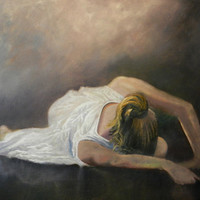 Oil Painting  - Ballerina Grandiose Finale