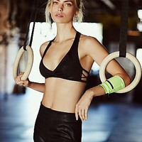 FP Movement Womens Faux Suede Warrior Bra