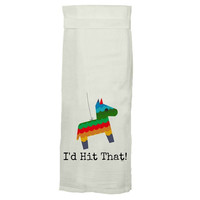 I'd Hit That Hang Tight Towel by Twisted Wares