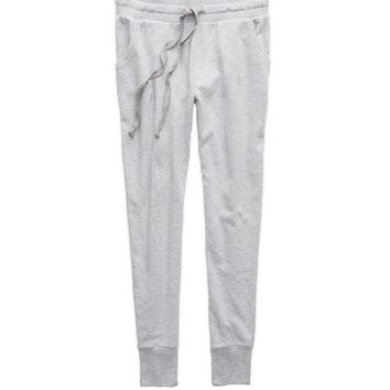 Aerie Skinny Jogger, Medium Heather Grey | Aerie for American Eagle