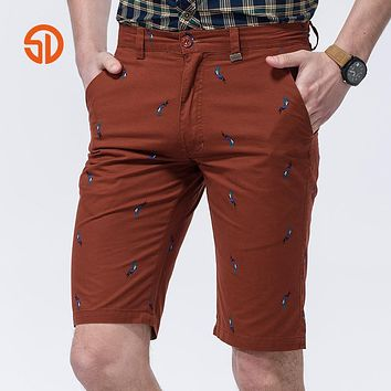 Fashion Shorts Men Spring Summer Style Fashion Casual Clothing Outdoors Men Cotton Short Home