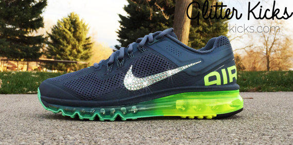 Bling Nike Air Max 2013+ Glitter Kicks from Glitter Kicks 8c2fdbb6b1cb