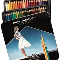 Prismacolor Premier Soft Core Colored Pencil, Set of 132 Assorted Colors (4484)