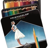 Prismacolor Premier Soft Core Colored Pencils, 132 Colored Pencils (4484)