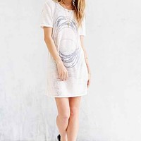 Truly Madly Deeply Burnout Tee- Ivory