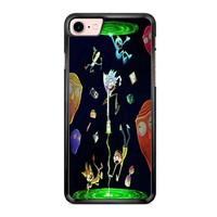 Rick And Morty Portal 1 iPhone 7 Case