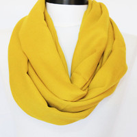 Yellow scarf,Infinity scarf,pashmina scarf,boho scarf,long scarf,,Loop scarf,Circle scarf,Women Scarf, Gift,Scarves,scarf (PS-8)