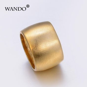 Wando Nigeria Ethiopian Ring Women Gold Color Eretrian Rings Girl Jewelry African Gift Nigeria Style Jewellry Arab Items WR53