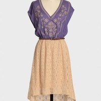 endless summer embroidered dress at ShopRuche.com
