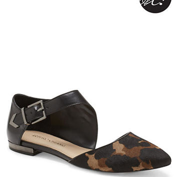 Arturo Chiang Kanna Haircalf and Leather Flats