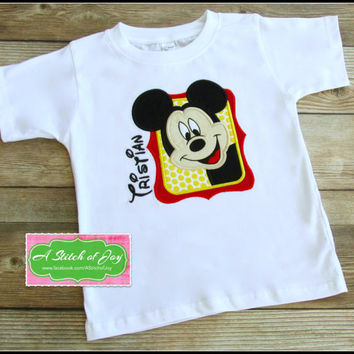 Boys Mickey Mouse Shirt Disney Vacation