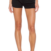SOLOW Jogger Short in Black
