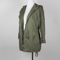 Carrie Utility Jacket | Army Green