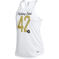 A1522A Fighting Irish Reverse Racer Back Tank